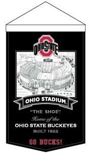 Ohio State Buckeyes Banner Wool Stadium Ohio Stadium