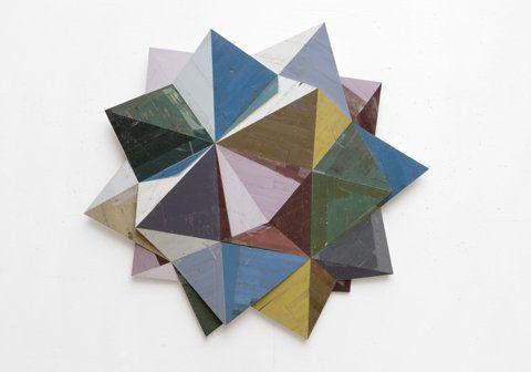 RON van der ENDESculpture Artists, Vans Of, Salvaged Wood, Colors, Ron Vans, 3D Painting, Ronvanderende2011Wrangl Jpg, Design, Recycle Wood