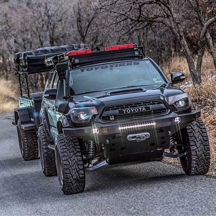 from @offroaddreams - Toyota Tacoma - by @defconbrix # ...