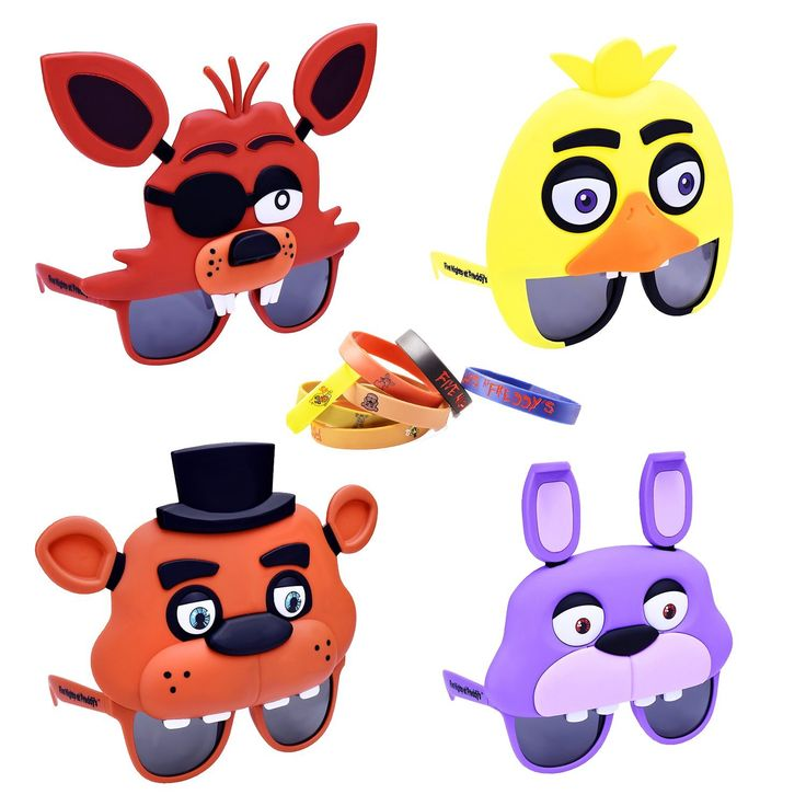 AmazonSmile Five Nights at Freddy's Party Sunglasses and