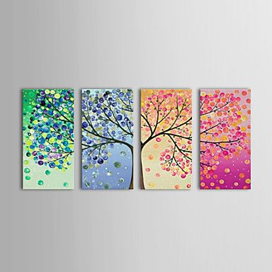 Oil Painting Floral Spring Summer Autumn Winter  . 4 season in a year, yet your love to your mom is consistent. A sweet gift for your mom on Mother's Day!