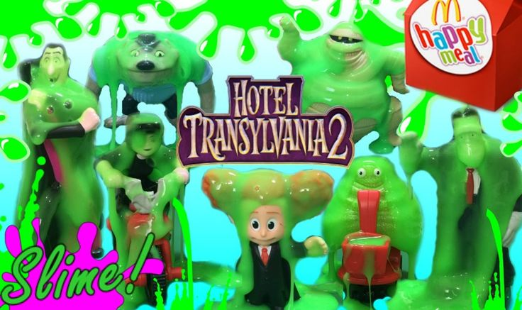 2015 Hotel Transylvania Set of 7 Full Set Mcdonalds Happy Meal Movie Toy...