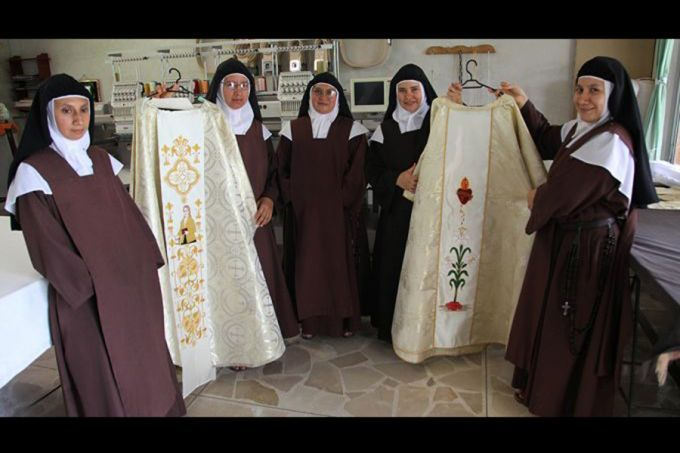 """Through the centuries, cloistered Carmelites have lead hidden lives, but their """"little"""" deeds can change the world! #Carmelites #vocations #yearofconsecratedlife"""