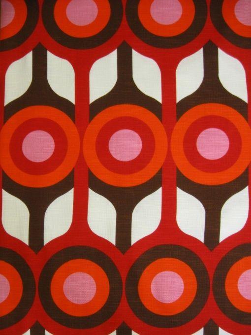 1970s fabric design