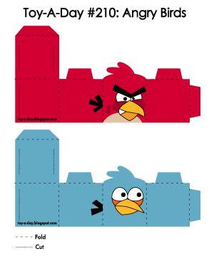 Eu Amo Artesanato: Caixinhas de Angry birds