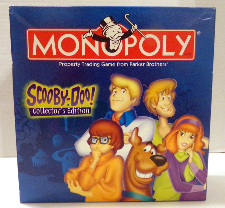 Scooby Doo Monopoly Game Collector's Edition Hasbro 2002