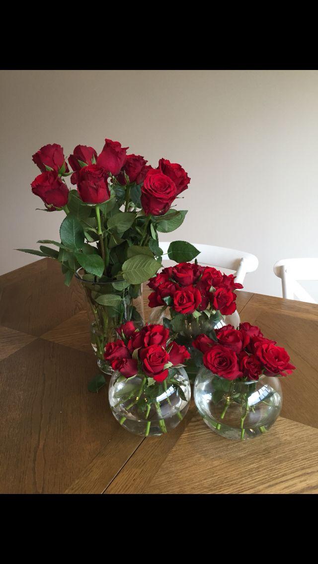 Flower arrangements  Centrepieces