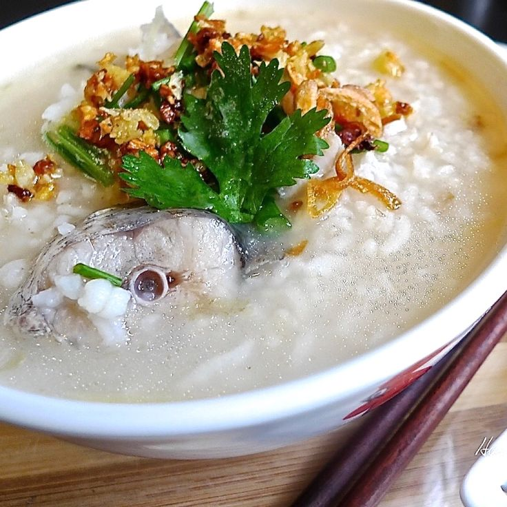 198 best congee rice porridge images on pinterest for Fish and rice diet