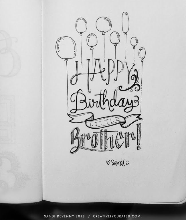 25+ Best Ideas About Happy Birthday Calligraphy On