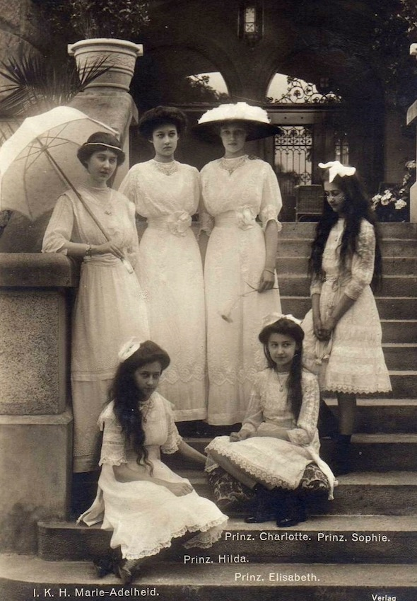 1910's Princesses of Luxembourg