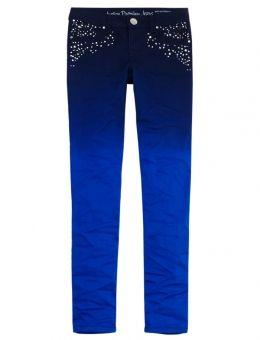 Dip Dye Super Skinny Jeans- justice for alia for hannukah