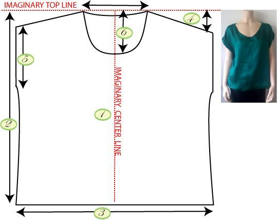 © 2015 Runway Sewing. All Rights Reserved.   Here is how you make this elegant but sophisticated and simple T shirt. I used silk charmeuse b...