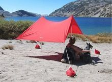 [Outdoor Sports] pop up UV Proof sun shade beach tent with sand anch
