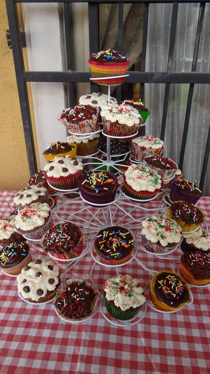 Cupcakes celebrando el Día del Padre....