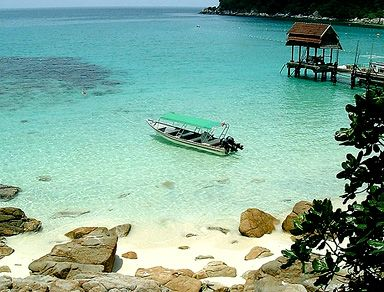 Tioman Island - selected one of the world's top 10 most beautiful islands.
