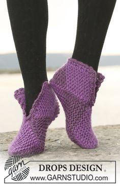 Носки из квадратов - Простое Вязание