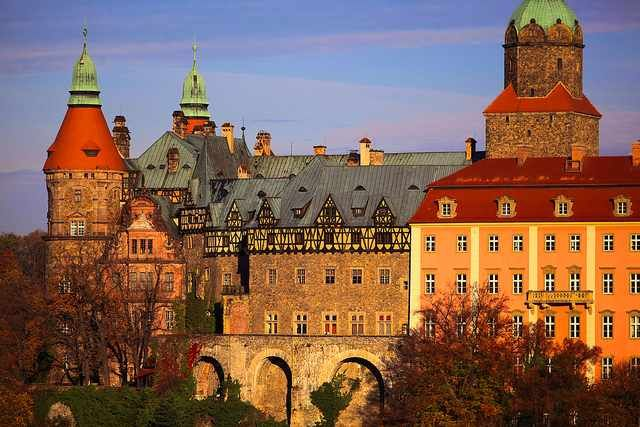 The Książ Castle | © Ministry of Foreign Affairs of the Republic of Poland/Flickr