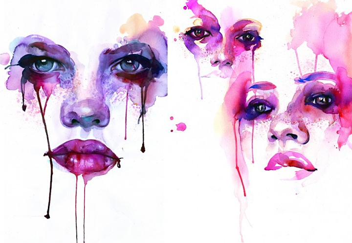 11 best images about aquarell on pinterest cut paper for Pinterest aquarell
