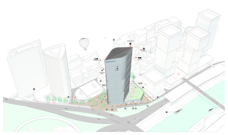 Gallery of AZPML and SHARE Selected to Design 115-Meter Viennese Office Tower - 9