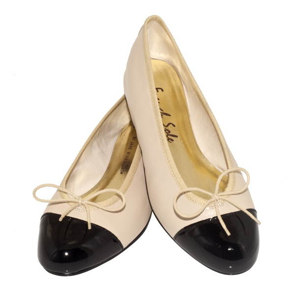 French Sole ballet pumps