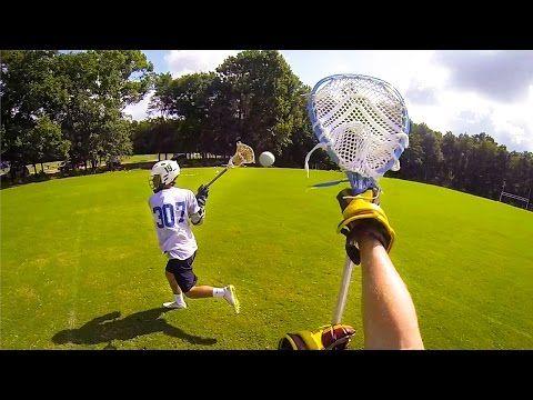 GoPro: Lacrosse - YouTube La crosse, sport des Iroquoiens
