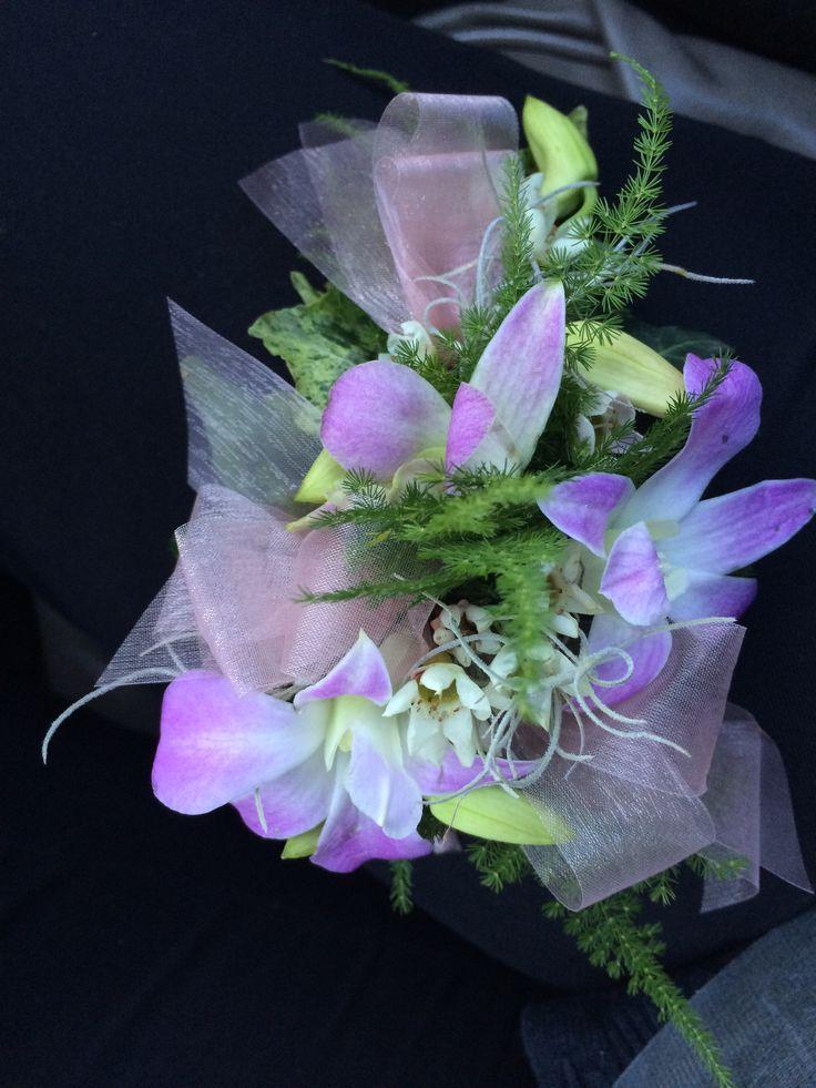 Singapore orchid corsage