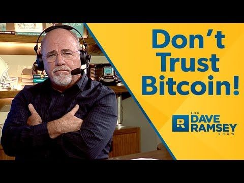 Dave ramsey on cryptocurrency