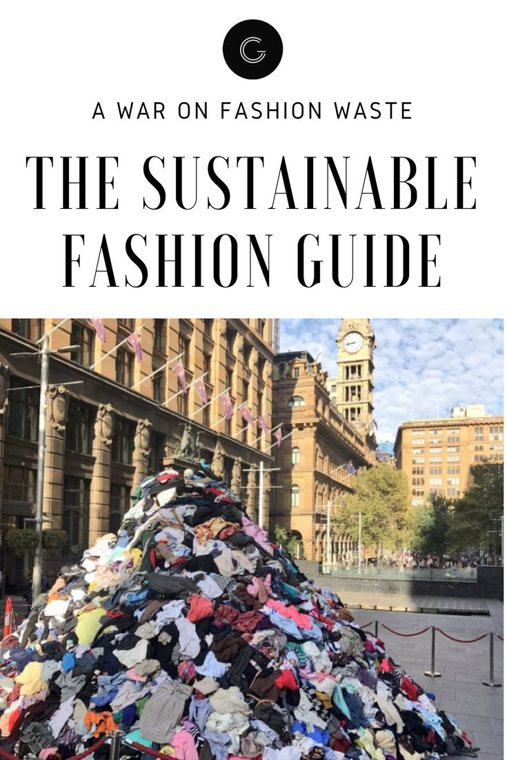 Learn how you can become a more ethical consumer by reducing your fashion waste.