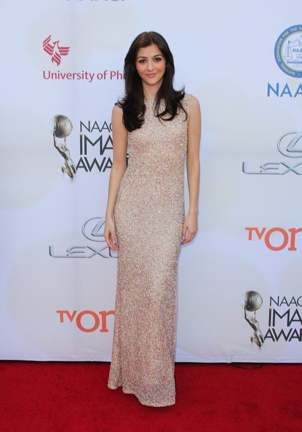 _Katie-Findlay. Actress Katie Findlay attends the 46th Annual NAACP Image Awards on February 6, 2015 in Pasadena, California. (Photo by Paul Archuleta/FilmMagic)