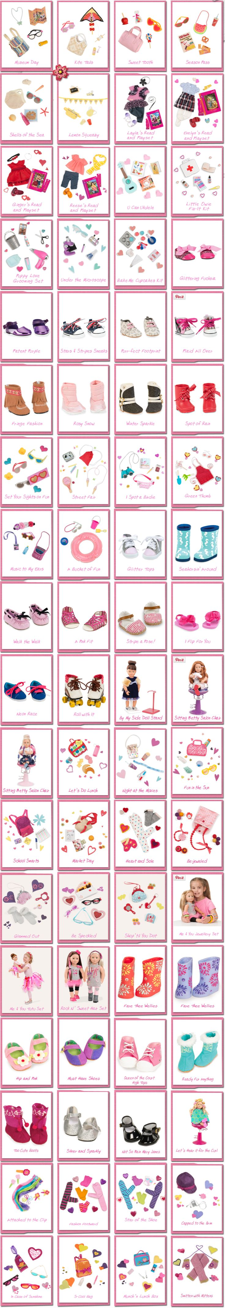 Fashion Accessories | Our Generation Dolls