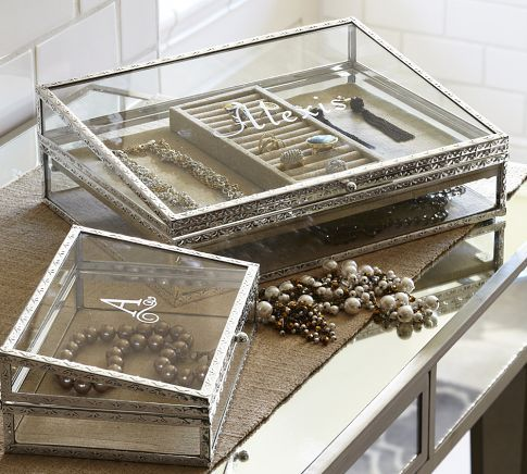 Mama got a new jewelry box: Antique-Silver Jewelry Boxes | Pottery Barn