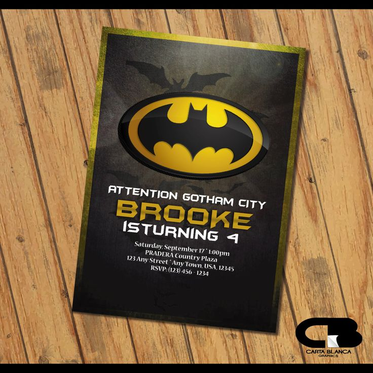 Best 25+ Batman invitations ideas on Pinterest | Batman party ...