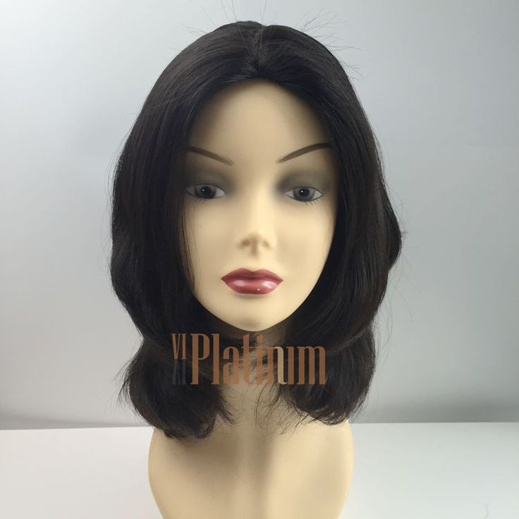 18 inches #2 #brush #back #body #wave #european #hair #jewish #kosher #wigs from Vivi Platinum Wig is very beautiful. If you like, please add my whatsapp +86 15964264679 or view our website to learn more information.