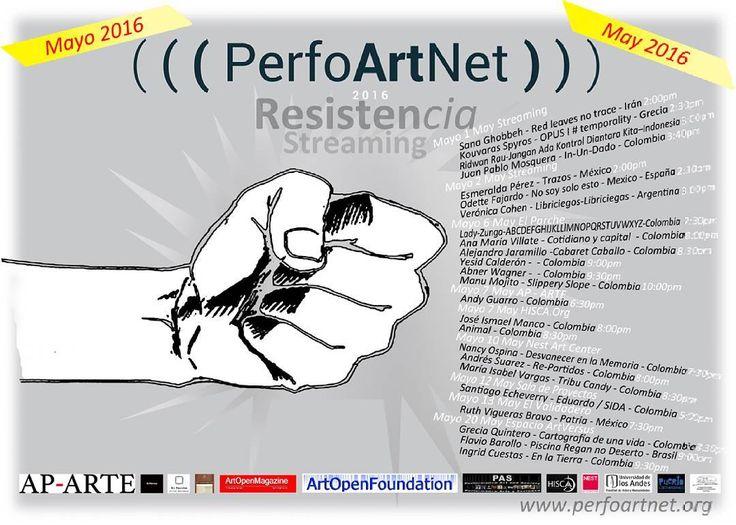 1 may 2016 untuk yang ada di kolombia 'jangan ada kontrol diantara kita' akan saya tampilkan #perfoartnet2016
