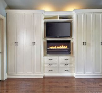 Custom Built Wall Units With Fireplace Home Design