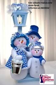 Resultado de imagen para muñecos navideños pinterest