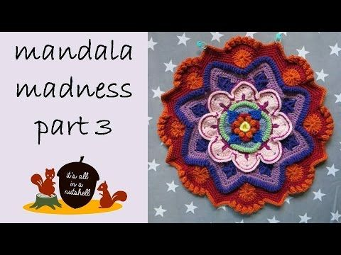 Video tutorial Mandala Madness week 3 | It's all in a Nutshell