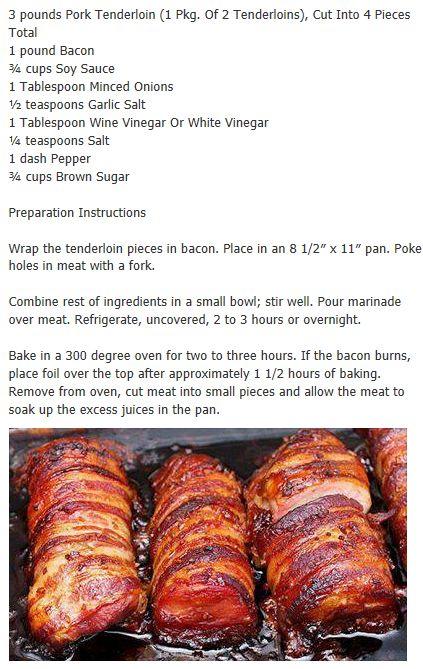 Best 25 bacon wrapped pork tenderloin ideas on pinterest pork pork tenderloin i made this tonightesome pork roastmarinade ccuart Choice Image
