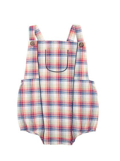 betsey johnson jewelry sale Boys  Cross Back Bubble Romper by Busy Bees on Gilt com   Boy sunsuits      Rompers  Bubbles and Crosses