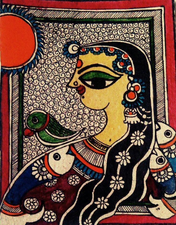 Madhubani painting basics by Aparajita sharma