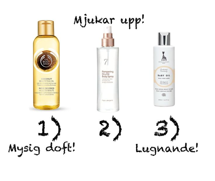 Lovely Beauty-Emma from Sweden (a popular beauty blogger and journalist from Mama and ex-Cosmopolitan) share her body oil tips. Ones with nice scents... http://blogg.mama.nu/beauty-emma/2015/01/12/kroppsoljor-mot-kli-panik/