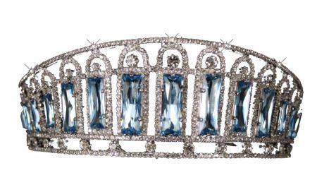 """Replica of Empress Alexandra""""s Aqua tiara"""