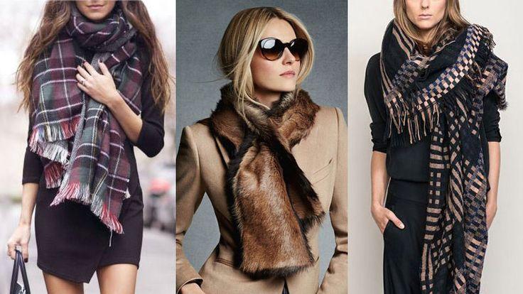 Как завязывать шарф - Мода 2015, модные тенденции, фото