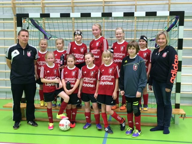 E10-11-tytöt - FC Kangasala