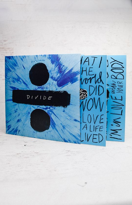Ed Sheeran - Divide - Vinyl from peppermayo.com
