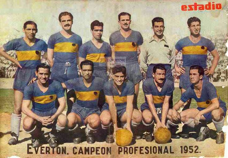 Everton of Chile team group in 1952