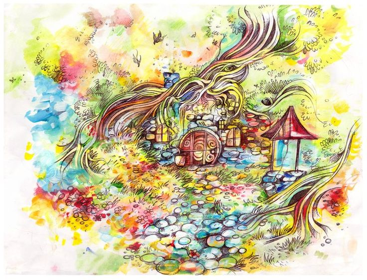 Hobbit Hole by Crowandthefox.deviantart.com on @deviantART