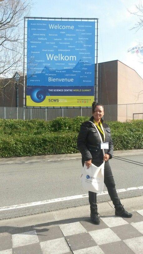 Brussels Belgium at Technopolis Science Centre fir SCWS14