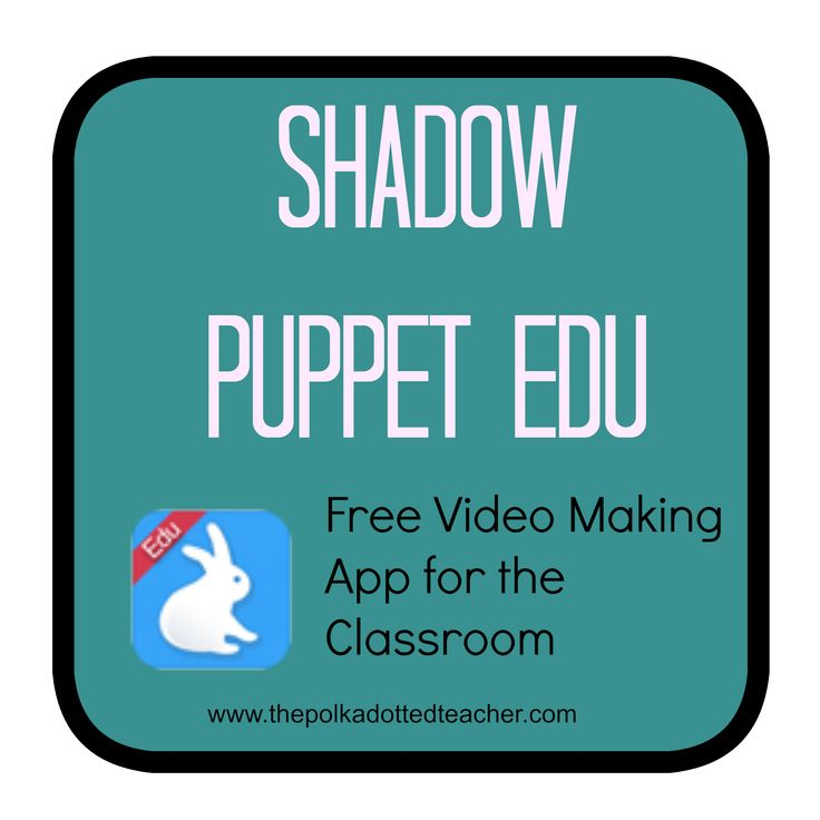 how to use shadow puppets app