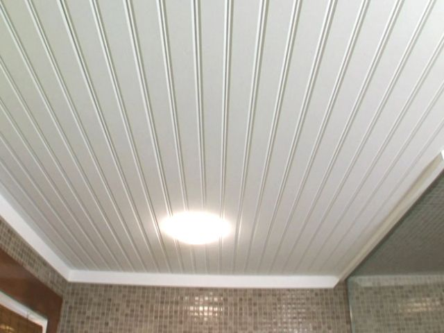 How to install beadboard ceiling in any room.